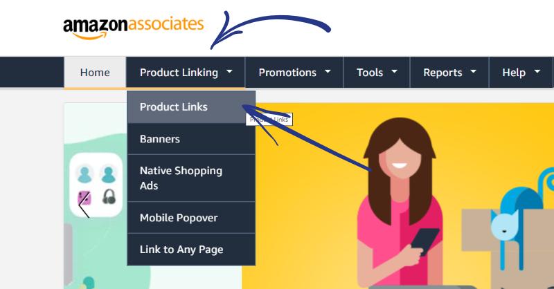 amazon associates product links