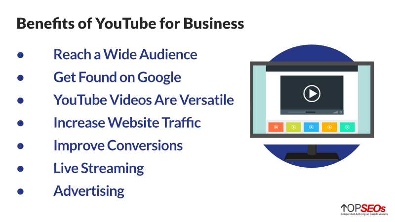 benefits of youtube for business