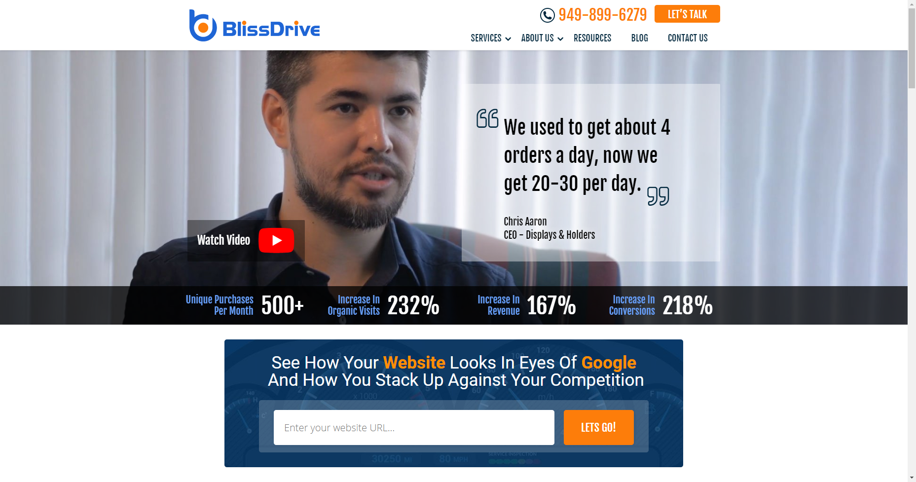 bliss drive local seo los angeles