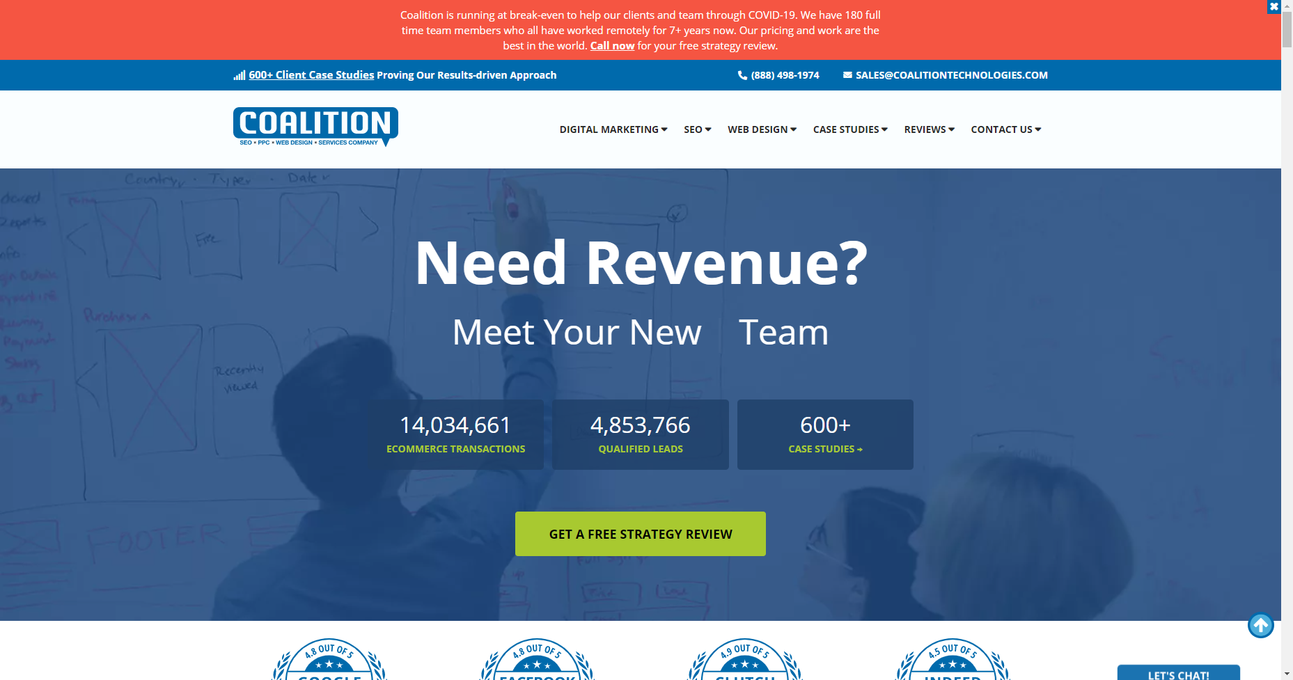 coalition technologies los angeles local seo
