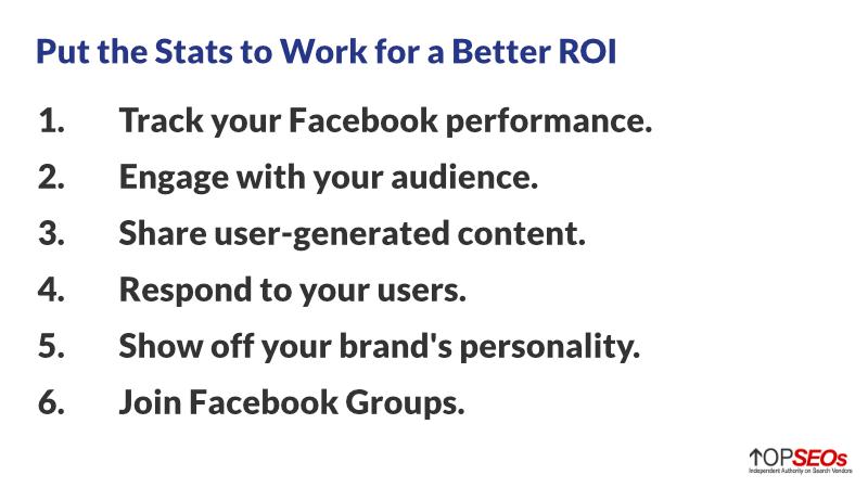 facebook tips to improve roi