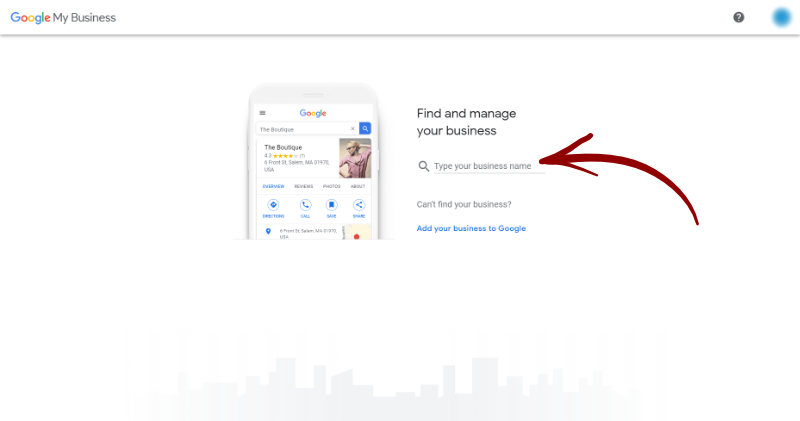 google my business find your business