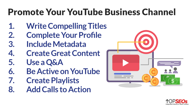 how to promote your youtube business channel