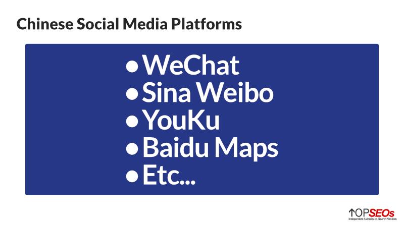 chinese social media platforms