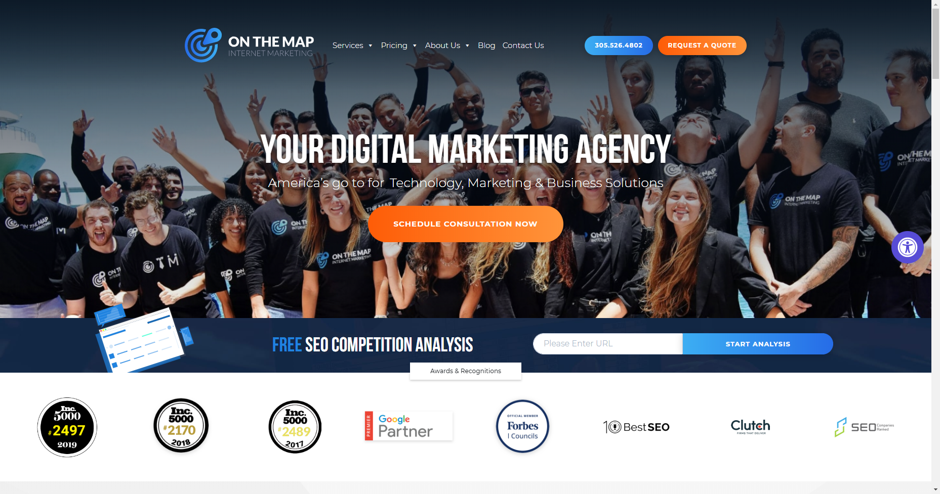 on the map marketing local seo los angeles