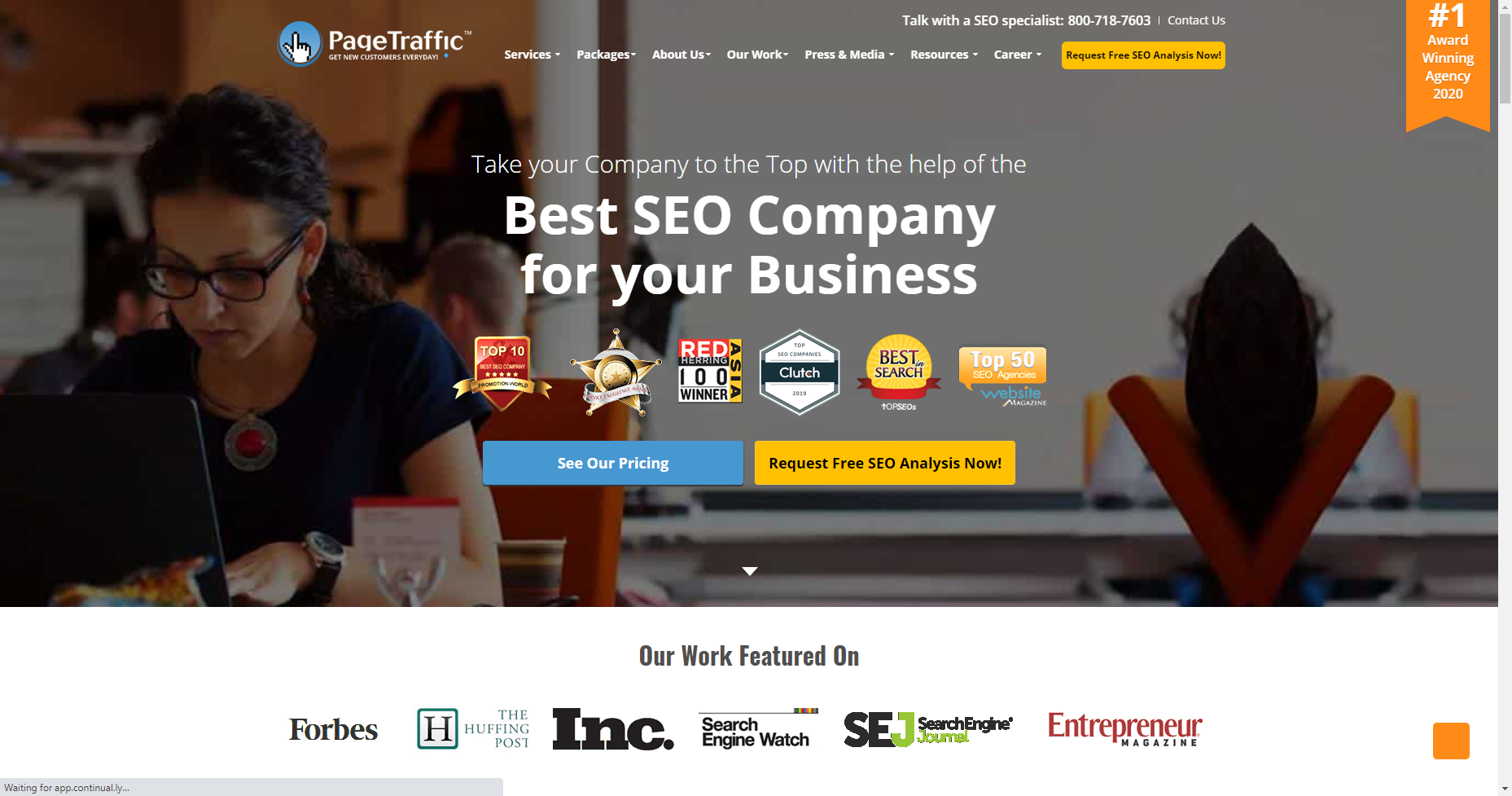 pagetraffic best white label seo company