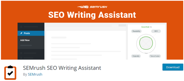 semrush seo writing assistant for WordPress