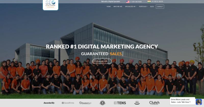 seo discovery seo company in mohali, india