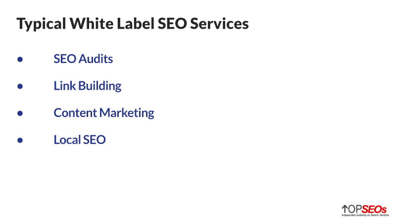 standard white label seo services