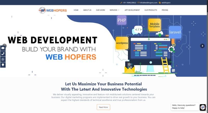 webhopers seo company in mohali, india